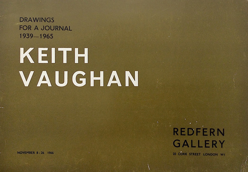Keith Vaughan: Drawings for a Journal 1939-1965  Exh. cat., London: Redfern Gallery, 1966