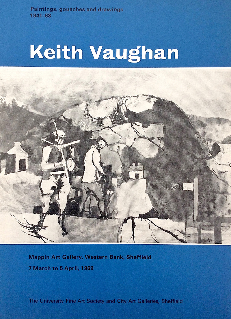 Keith Vaughan: Paintings, Gouaches & Drawings, 1941-68
