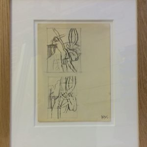 3a-Two-Studies-of-Bathers-framed