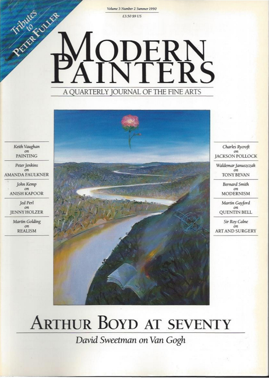 'Keith Vaughan: 'Statement on Painting', Modern Painters, vol. 3, no. 2, Summer 1990