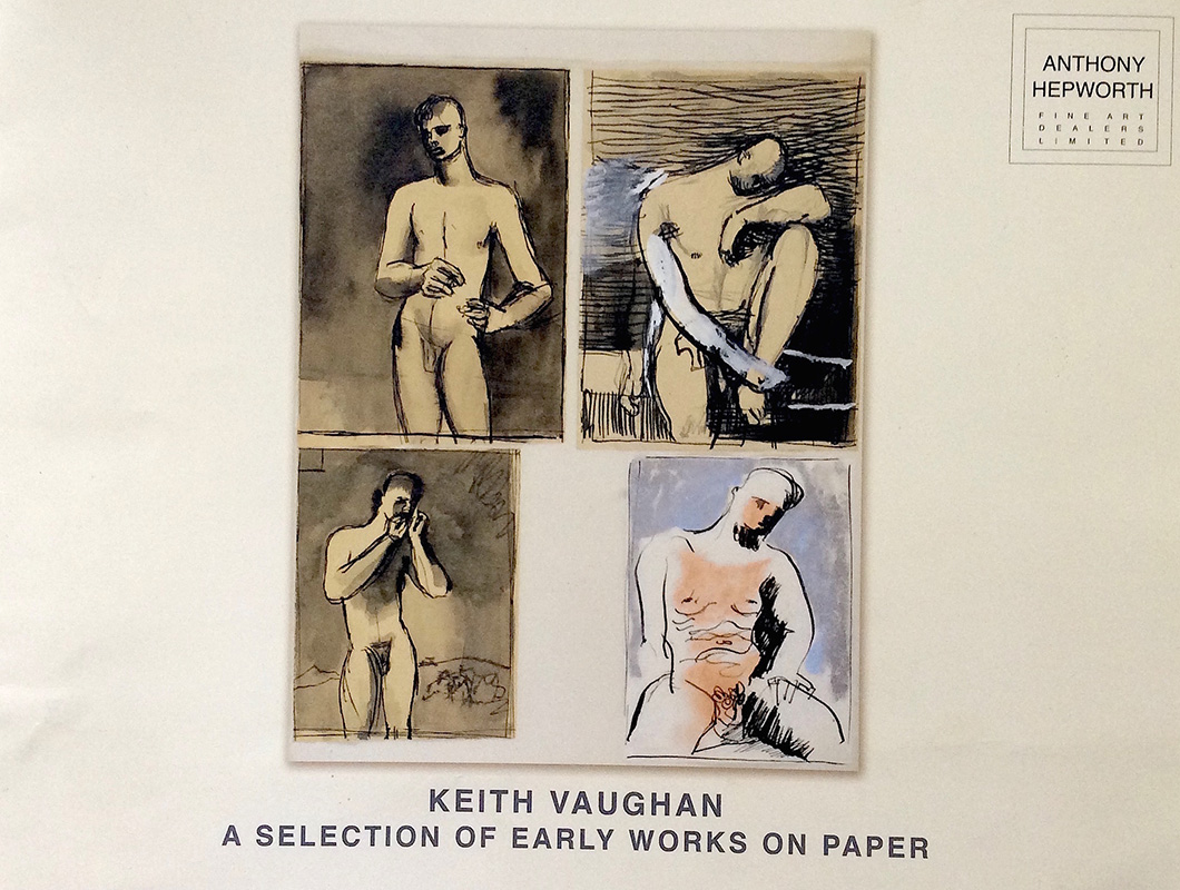 Anthony Hepworth, Keith Vaughan, A Selection of Early Works on Paper, Exh. cat., Bath, 2012
