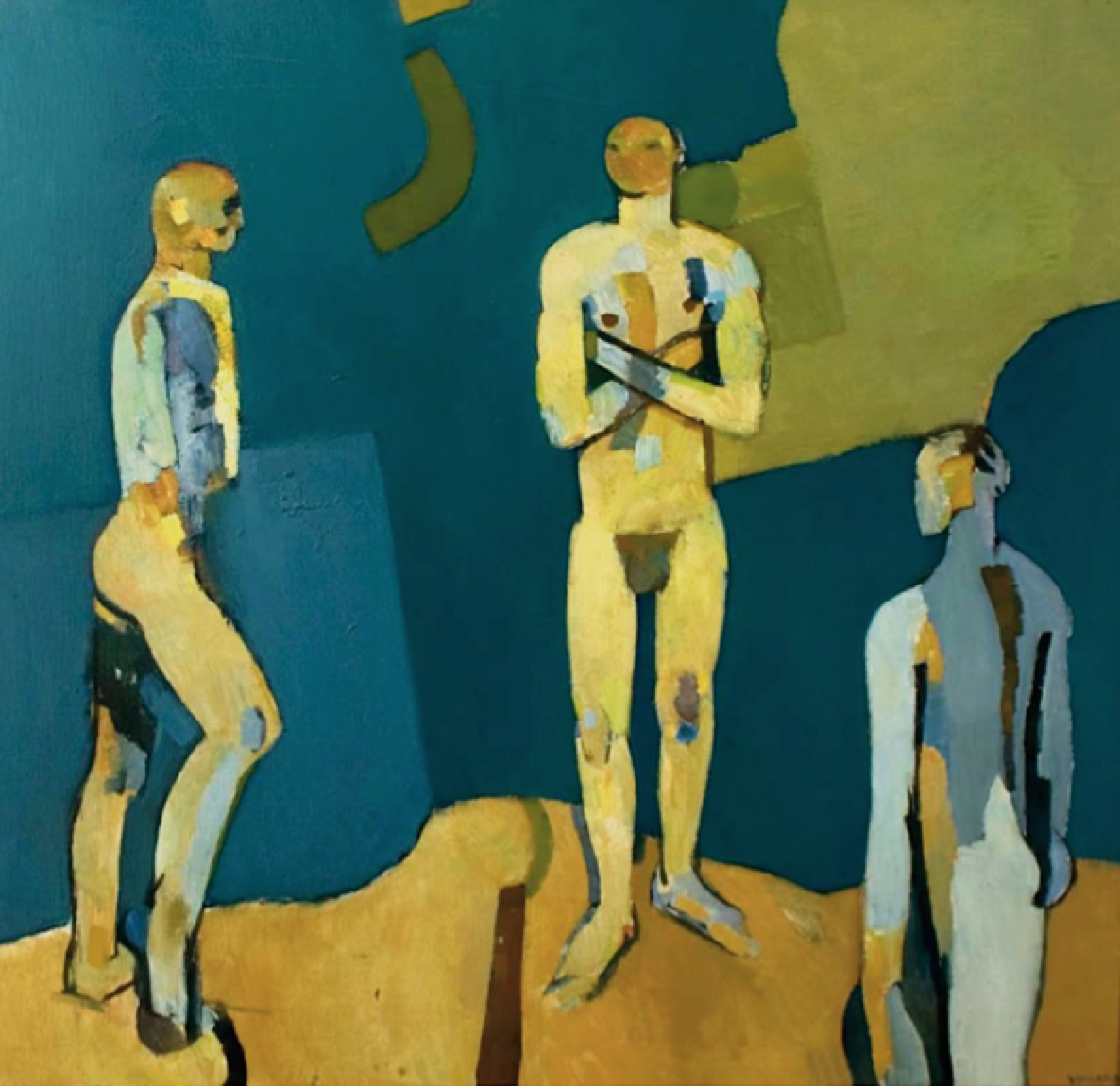 FORTH ASSEMBLY OF FIGURES (TRANSFIGURATION GROUP), 1957