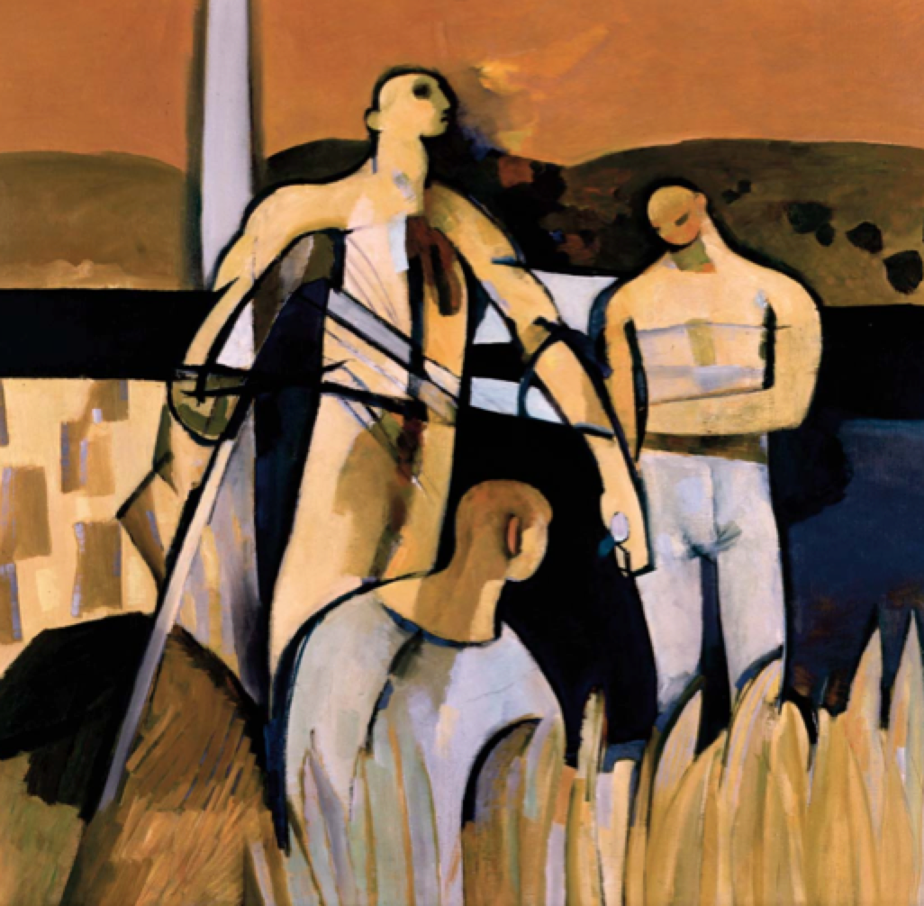 THIRD ASSEMBLY OF FIGURES (HARVEST ASSEMBLY), 1956