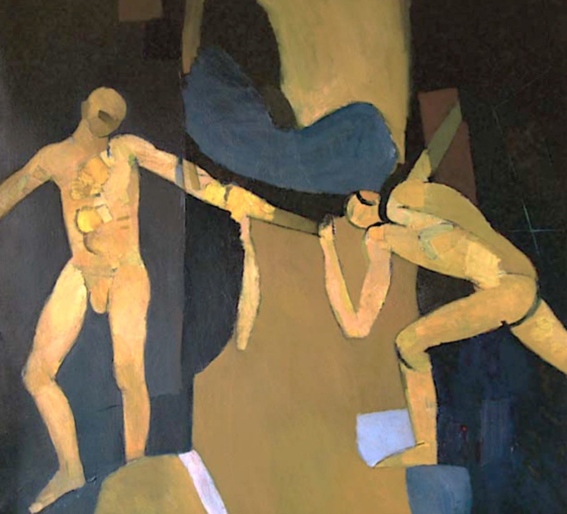 FIFTH ASSEMBLY (TWO FIGURES IN SEQUENCE), 1957-8
