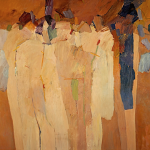 EIGHTH ASSEMBLY OF FIGURES (ORANGE ASSEMBLY), 1964